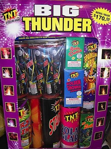 Big Thunder Fireworks