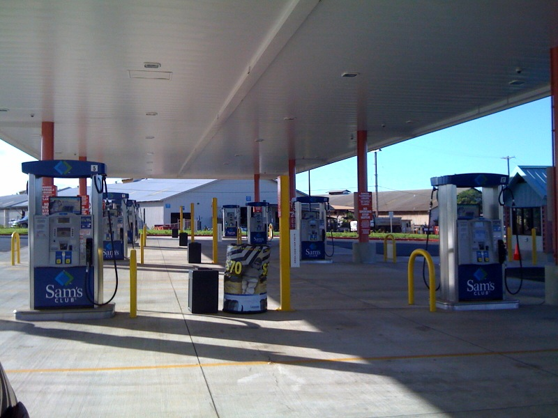 Sam's Club Gas Station Pearl City