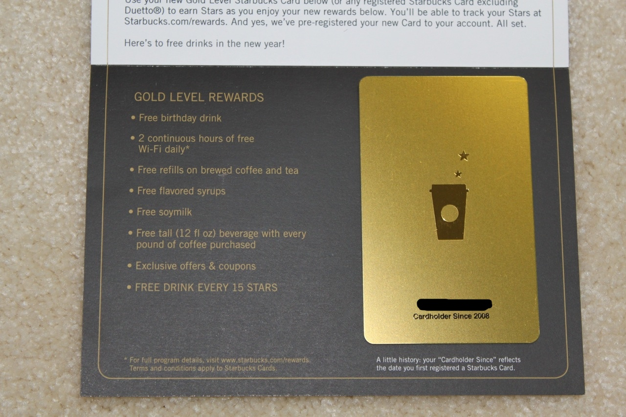 「my starbucks rewards gold level」の画像検索結果