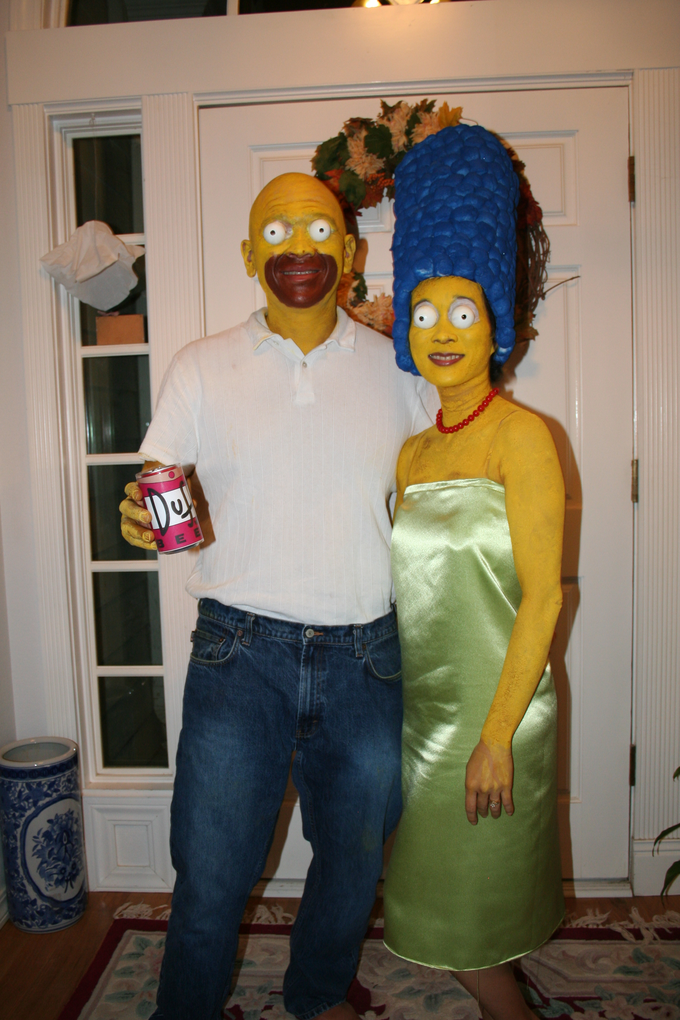 best simpsons halloween costumes. Black Bedroom Furniture Sets. Home Design Ideas