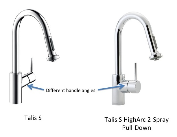 confused about hansgrohe talis s kitchen faucets. Black Bedroom Furniture Sets. Home Design Ideas