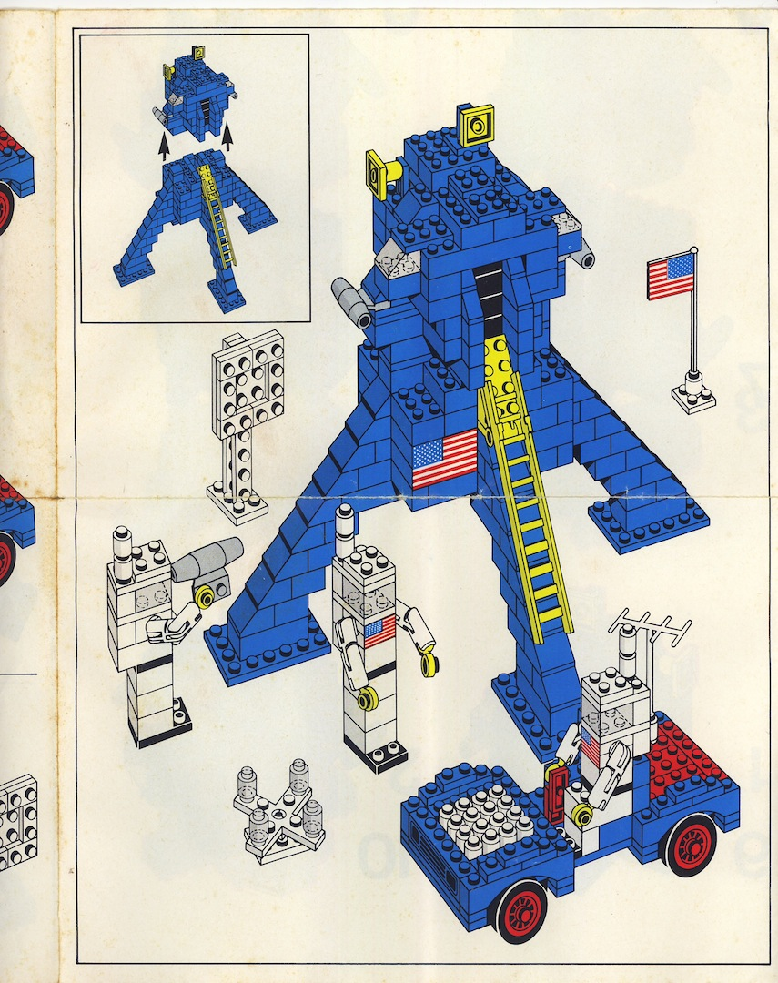 Схема сборки космического корабля