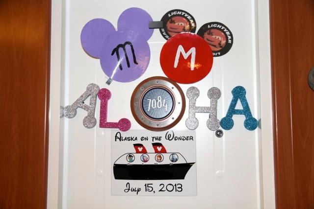Magnetic Disney stateroom doors