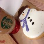 Starbucks Snowman