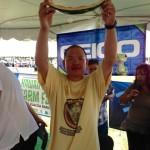 Farm Fair Watermelon Eating Champ 2009 & 2014