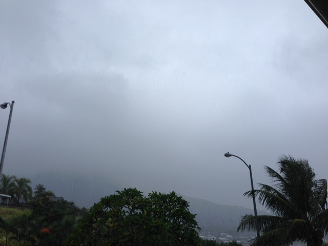 Cloudy with a chance of Iselle