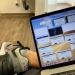 Copping Yeezys wearing Kith New Balances