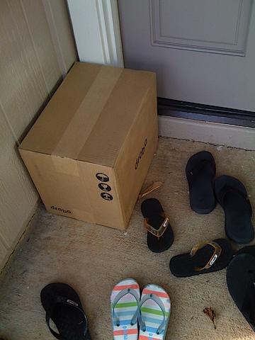 Drobo at the Door