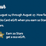 Star Dash, Aug 14-27, 2013