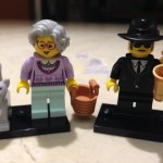 LEGO Grandma and Saxophone Player