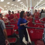 Shopping carts went fast